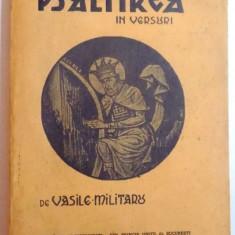 PSALTIREA IN VERSURI de VASILE MILITARU ,1933