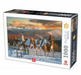 Cumpara ieftin Puzzle Romania - Castelul de Lut Valea Zanelor, 1000 piese