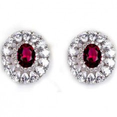 Cercei Studs Ruby Glam by Borealy