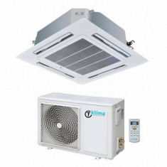 Aparat aer conditionat tip Caseta T klima TK-CCA-24+TK-COU-24 24000BTU Inverter Clasa A+ Alb