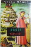 SONETTI di DANTE ( EDITIE BILINGVA ROMANA - ITALIANA ) , traducere de LEONIDA MANIU , 1997