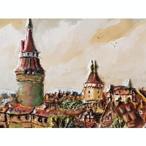 Tablou - pictura veche ulei - natura statica - rama frumoasa