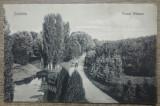 Craiova, Parcul Bibescu// CP, Circulata, Fotografie