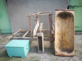 Razboi de tesut vechi, piesa de lemn pentru decor!