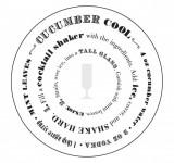 Suport pentru pahar - Cocktail | Chronicle Books
