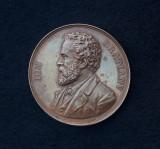Medalie Ion C. Bratianu - 1891 - Partidul National Liberal