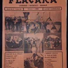 BANU C. (Director), FLACARA (Literara, Artistica si Sociala), Anul III, Numarul 30, 1914, Bucuresti