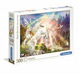 Cumpara ieftin Puzzle Sunset unicorns, 500 piese, Clementoni