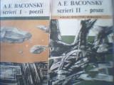 A.E. Baconsky - SCRIERI { 2 volume : POEZII * PROZE } / 1990