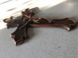 Cruce ,crucifix francez,cu Isus rastignit