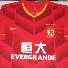 Tricou NIKE fotbal - GUANGZHOU EVERGRANDE (China)-nr.9 jucatorul ELKESON, XL, Din imagine, De club