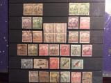Lot timbre Ungaria Debretin, Stampilat