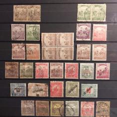 Lot timbre Ungaria Debretin