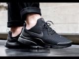 Adidasi Nike Air Presto -Adidasi Originali, 42.5, Negru, Textil