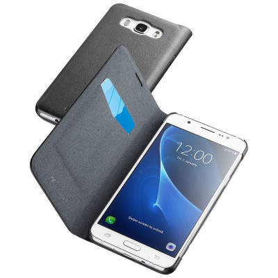 Husa Agenda Essential Negru SAMSUNG Galaxy J5 2016 foto
