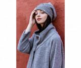 Caciula dama Corinzio Soft - Chez Moi, Gri & Argintiu