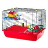Cușcă pentru hamsteri și șoareci JERRY II cu tunel