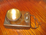B941-Lanterna veche probabil militara anii 1900 functionala metal stare buna.