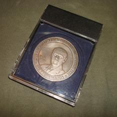 Medalie WOODROW WILSON /SUA 1913 - 1921/Centenarul Marii Uniri a Romanilor
