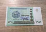 Bancnota 5000 som