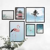 Cumpara ieftin Set 6 tablouri decorative Summer, Heinner