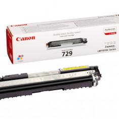 Toner original Canon CRG-729Y Yellow