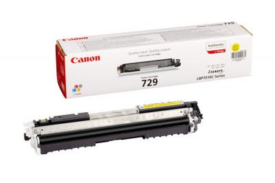 Toner original Canon CRG-729Y Yellow foto