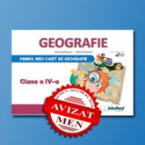 Caietul elevului pentru Geografie. Clasa a IV-a - Stefan Pacearca, Manuela Popescu