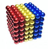 Puzzle Magnetic Neocube 216 bile magnetice tricolorul Romaniei