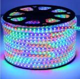 Furtun Luminos Banda 6000 LEDuri RGB 5050 Rola 100m