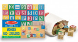 Cuburi litere si numere - 50 buc, Melissa & Doug