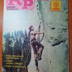 romania pitoreasca octombrie 1984-articol braila,baile tusnad,sarbarile marii