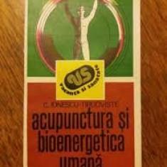 C. ionescu targoviste acupunctura si bioenergetica umana