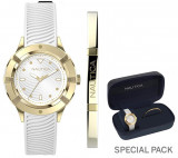 Ceas Dama NAUTICA CAPRI (watch + fashion jewel bracelet, gift set) NAPCPR007