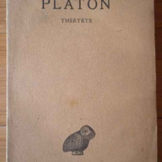 Oeuvres Completes Tome Viii - 2-e Partie Theetete - Platon ,309216