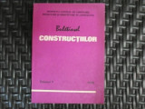 Buletinul Constructiilor - Colectiv ,550461