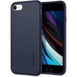 Cumpara ieftin Carcasa Spigen Liquid Air iPhone 7/8/SE (2020) Midnight Blue