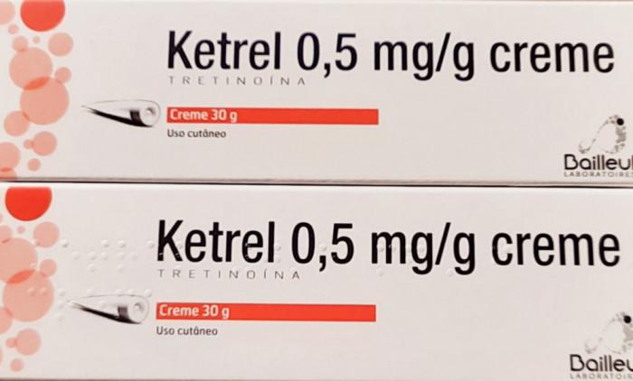 TRETINOIN 0.05% Ketrel Retin A Retinol Riduri Acnee Airol Tretinoina