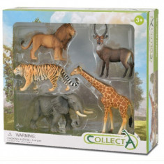 Set 5 Animale Salbatice Collecta, 3 ani+