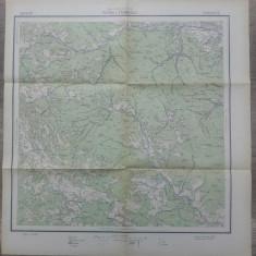Bucovina, Putna si Frumosul/ harta Serviciul Geografic al Armatei 1939