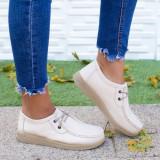 Pantofi dama Piele bej Ganemi