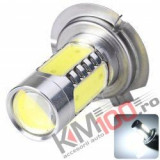 Bec H7, LED COB, 12V (proiectoare)
