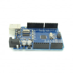 Placă de dezvoltare compatibilă cu Arduino UNO (ATmega328p și CH340)