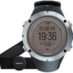 Ceas activity tracker Suunto Ambit3 Peak Sapphire + HR (Negru/Argintiu)
