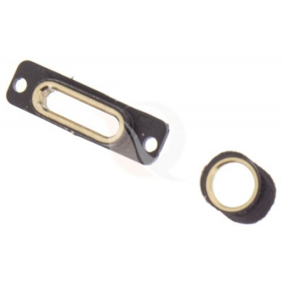 Componente carcasa, iphone 5 charging connector bracket gold foto