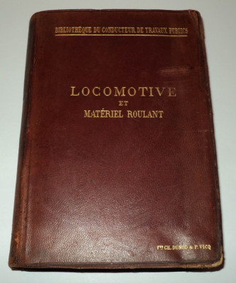 Locomotive et materiel roulant, Maurice Demoulin, 1896, material rulant foto