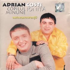 CD Adrian Copilul Minune & Costi Ioniță – Autoconcurență, original, manele