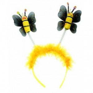 Costum Copii pentru serbare Albinuta cu antene 128 cm