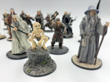 "De colectie! Set 19 figurine din plumb cu personaje "" LORD OF THE RINGS "" !"