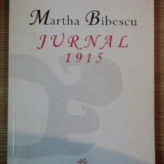 Jurnal  : 1915 / Martha Bibescu
